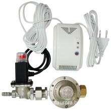 LPG Gas Detector With Solenoid Valve