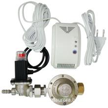 LPG Gas Detector With Solenoid Valve