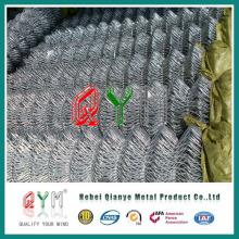 Qym-Bastidor de malla / vinilo recubierto cadena de valla de enlace