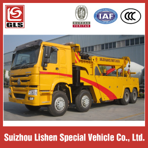 Sinotruck howo rotator wrecker truck for sale