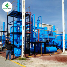 50 T Waste Oil Sludge Pyrolysis Machine Recycling Plant to Diesel