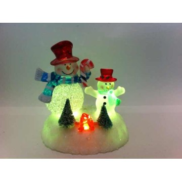 Led Christmas Light For Snowman