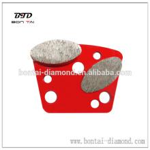 Coussinets de meulage des segments ovales pour les machines de polissage et de polissage Blasrac