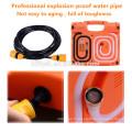TS-1688 Lave-auto Jauge de pression des pneus Pompe à air 3 en 1 électrique 12V machine (certificat CE)