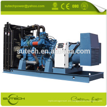 Generador diesel de 520KW MTU con el motor original de Alemania 12V2000G25 MTU