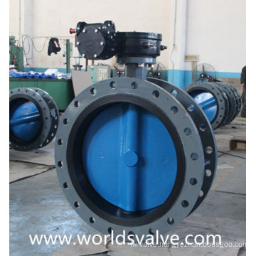 D41X Double Flange Butterfly Valve with Painting Disc