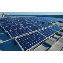 Módulos solares polis 150W fora do sistema solar da grade