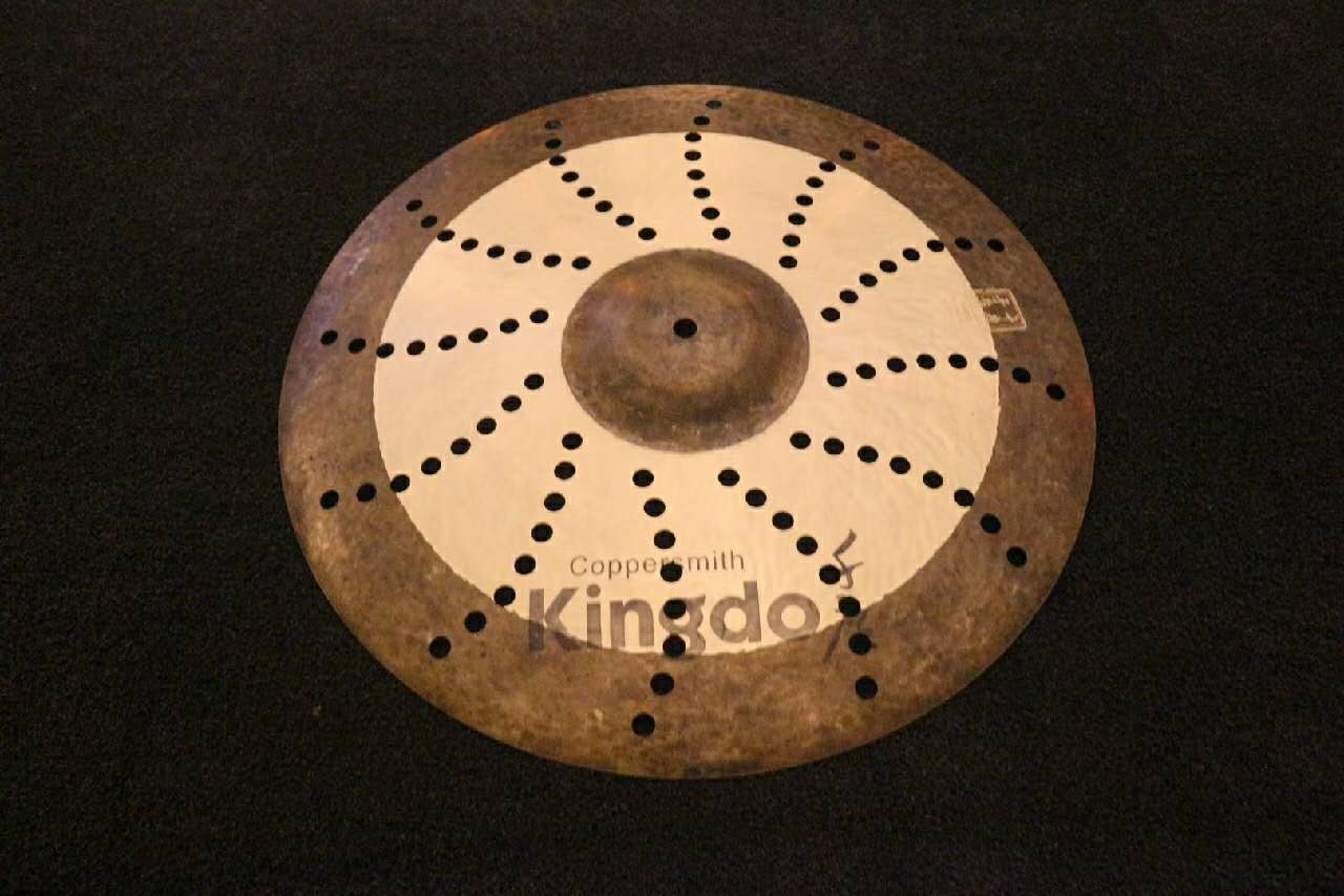 Handmade Effect Cymbals With Holes