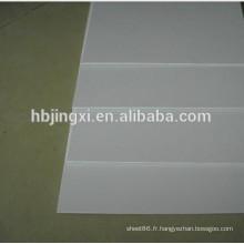 Feuille résistante de PE d'abrasion, panneau en plastique de PE, plaque de PE