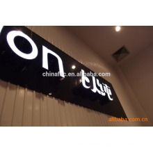 Metal stainless steel led illuminated letter