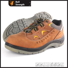 Full Grain Cow Leather Low Cut Industrial Safety Shoe (SN5387)
