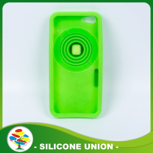 Custom Colorful Silicone Cell Phone Case For Iphone 5
