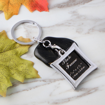 Latest Style Square Metal Key chain Accessories