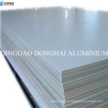 Tipo de placa liso superfície alumínio puro folha