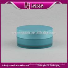 SRS échantillons gratuits cosmétiques bule en plastique 4oz double paroi de pots cosmétiques