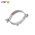 L17 u type pince de tuyau en métal galvanisé tuyau en acier