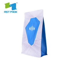Block Bottom Bio Packaging Plastic Bag for Food