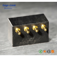High Precision Gold Plating Pogo Pin Battery Connector