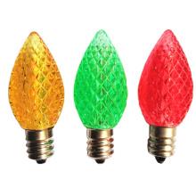 Bombillas decorativas de fresa C7 LED Lámparas navideñas