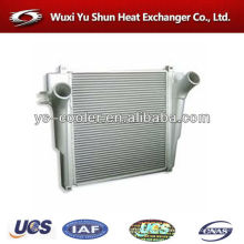 hot selling and high performance customizable aluminum charge air cooler for truck