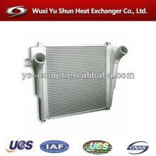 Горячий продавать и высокая производительность настраиваемый алюминиевый заряд воздушный охладитель для грузовика