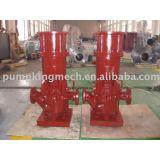 vertical suspended pump