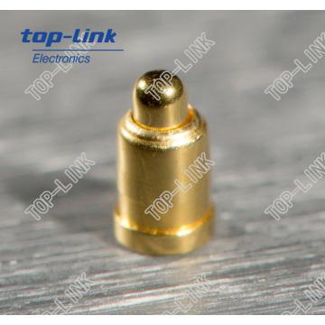 Federbelag Messing Pogo Pin mit kleinem Durchmesser 0,6