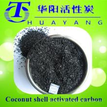 Filtro de carvão activado com carvão ativado por carvão de coco / granulado para purificação de descoloração