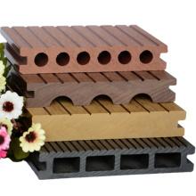 El mejor vendedor del wpc hollow decking wpc jardín azulejos piso wpc decking