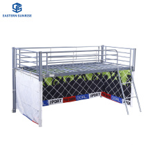 Wholesale Price Factory Dormitory Furniture Bedroom Single Size Iron Children Bed