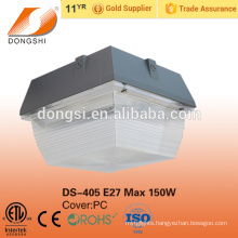 60W Outdoor gas station LED canopy light brighter LED lightings