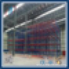 Unidade de armazenagem através do suporte de paletes