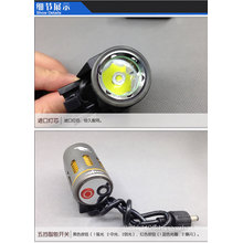 led bike light Rechargeable 1000LM 1x Cree xml t6 flashing led light for bike
