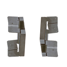 Q235B OEM 6 Holes Connection Base Stamping Alloy Plate Sheet Fabrications Stamping