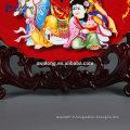 Types de décoration de décoration de créateurs Plaques de cuisine Chinois Style Cadeaux de meilleurs voeux