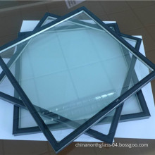 6+12+6mm Insulated Glass/Hollow Glass/Igu/Double Glazing Glass for Building, Window, Curtain Wall