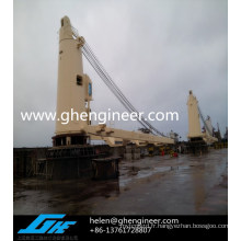Grue marine pour pont / plate-forme offshore