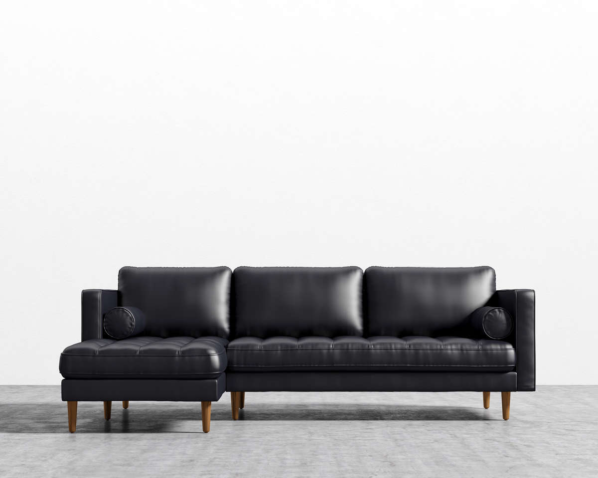 Luca_Sectional_FRONT_GenuineLeather_FlorenceBlack