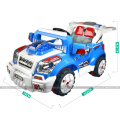 HOT & NEW! Storage Batteries Children Car double seats with LED headlights