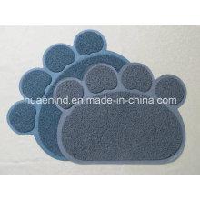 Estera del colector de la litera del animal doméstico del PVC, productos del gato