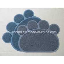 Tapete do coletor da maca do animal de estimação do PVC, produtos do gato