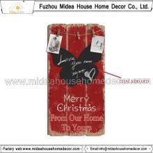China-Fabrik Gewohnheit Weihnachten Tafel