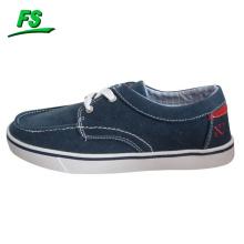 barato zapato de lona plano único de las altas tapas