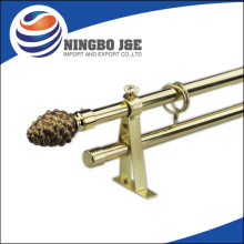 Window Curtain Pole With Glass Curtain Pole Finial