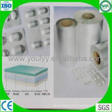 Papel de aluminio para blíster