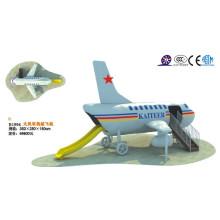 2014 new type children airplane style outdoor slide equipment