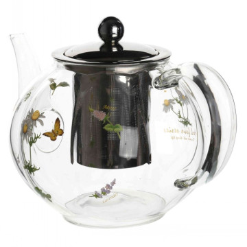 Teapot With Stainless Steel Lid