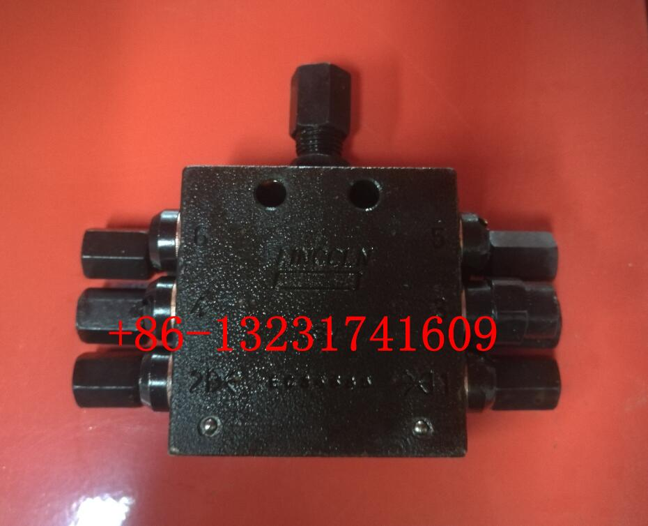 6holes Grease Distributor Block