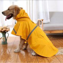 fashionable dog raincoat pet cleaning cloth