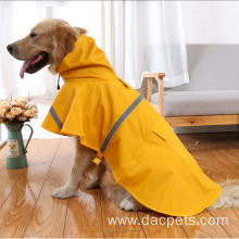 fashionable dog raincoat pet cleaning cloth